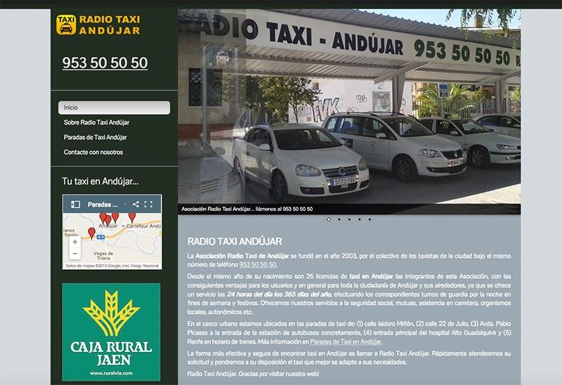 Taxi en Andújar