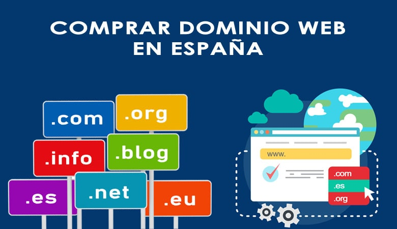 comprar dominio web en españa